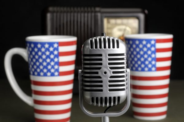 Stock photo illustrating the concept of talk radio and free speech